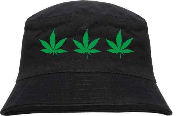 Hanfblätter Fischerhut - Bucket Hat – Hanf