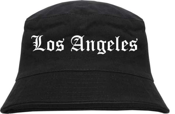 Los Angeles Fischerhut - Altdeutsch - bedruckt - Bucket Hat Anglerhut Hut