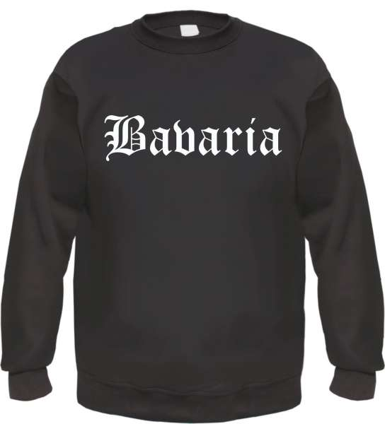 Bavaria Sweatshirt - Altdeutsch - bedruckt - Pullover
