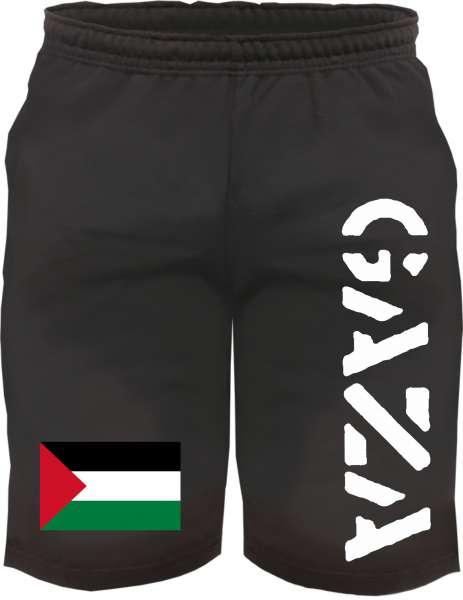 Gaza Sweatshorts - bedruckt - Kurze Hose Shorts Flagge