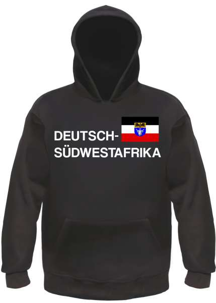 DEUTSCH SÜDWESTAFRIKA Hoodie Kapuzensweatshirt