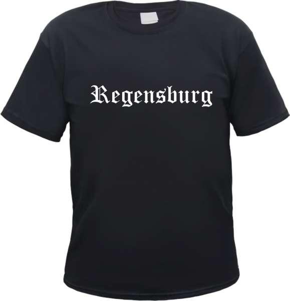 Regensburg Herren T-Shirt - Altdeutsch - Tee Shirt