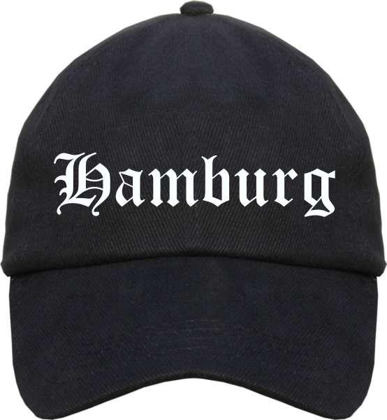 Hamburg Cappy - Altdeutsch bedruckt - Schirmmütze Cap