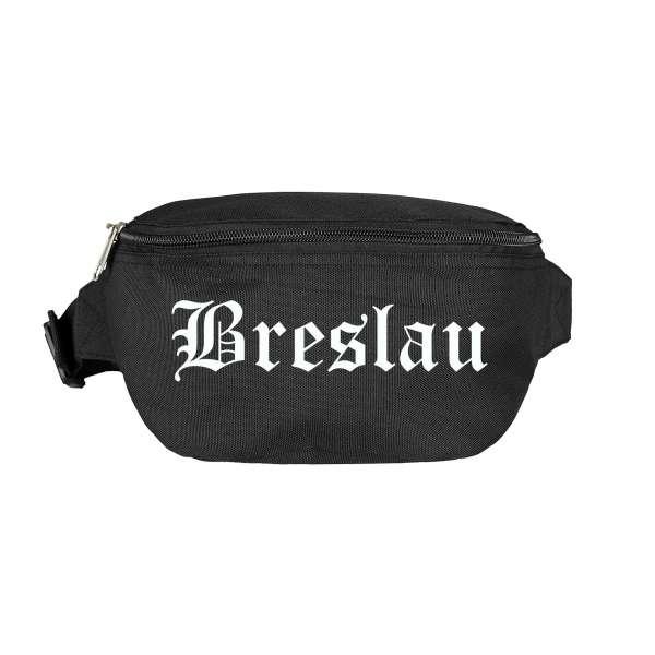 Breslau Bauchtasche - Altdeutsch bedruckt - Gürteltasche Hipbag