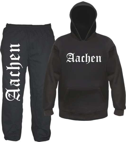 Aachen Jogginganzug - Altdeutsch - Jogginghose und Hoodie