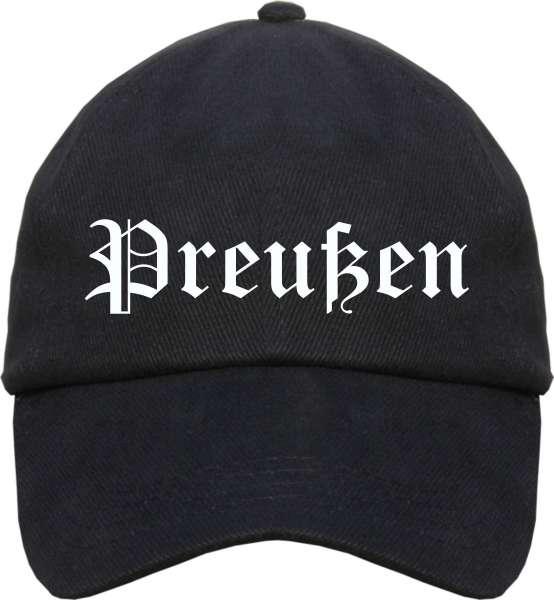 Preußen Cappy - Altdeutsch bedruckt - Schirmmütze Cap