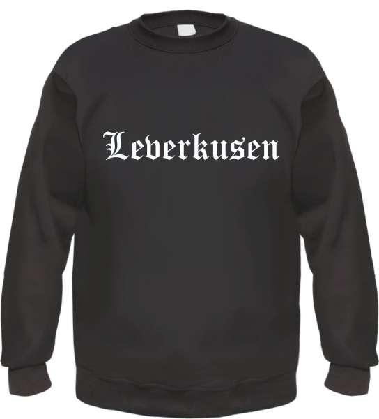 Leverkusen Sweatshirt - Altdeutsch - bedruckt - Pullover