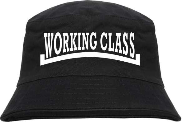 Working Class Fischerhut - bedruckt - Bucket Hat Anglerhut Hut Arbeiterklasse Oi